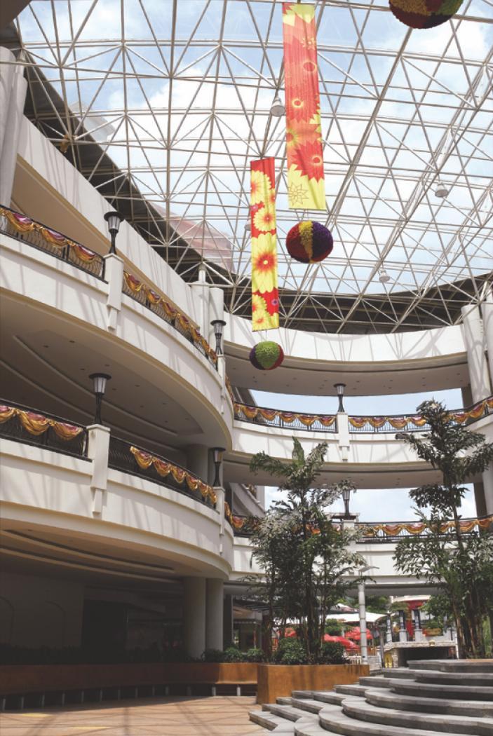 万江华南mall电影院_华南MALL商业街景观设计-商业街景观设计-商业景观设计案例-园林 ...