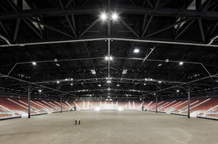 阿塞拜疆的巴库水晶厅体育馆建筑设计-建筑设计-精彩