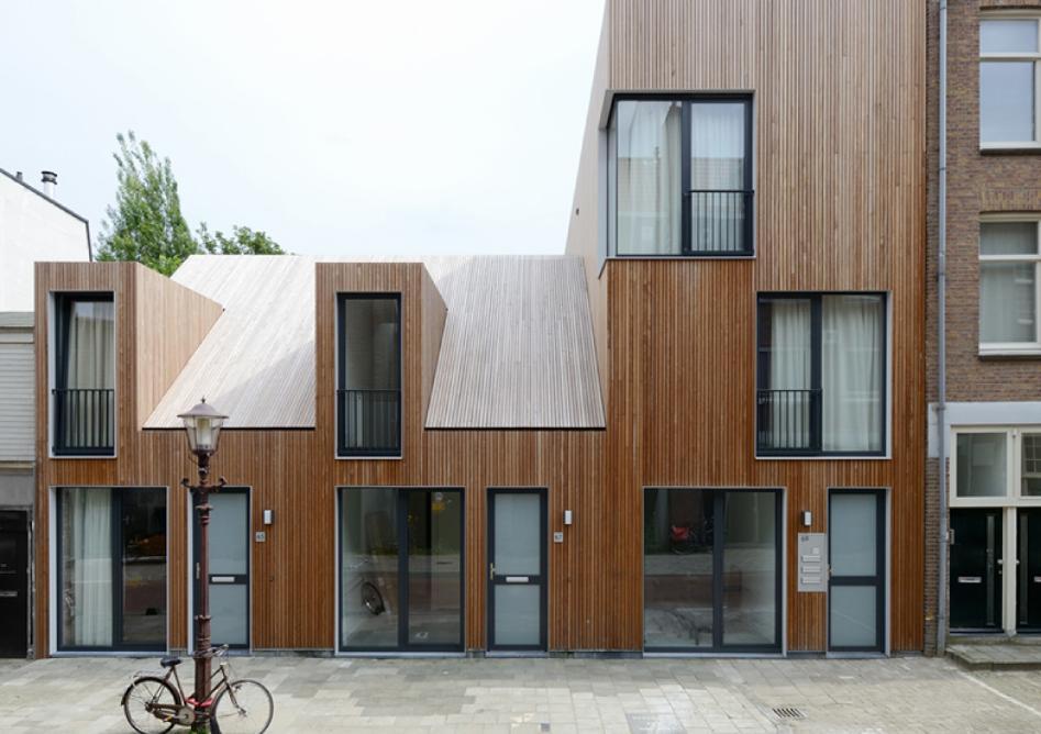 装修设计   三层现代简约型坡顶小别墅建筑效果图   3实用型